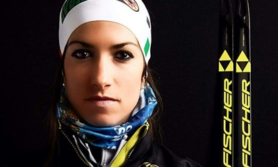 Ilaria Debertolis: A cross-country skier focused on her goals.