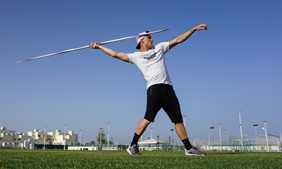 Thomas Röhler: Javelin thrower.