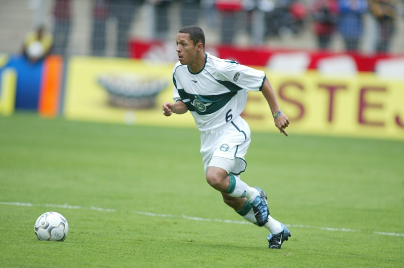 A Coritiba player.