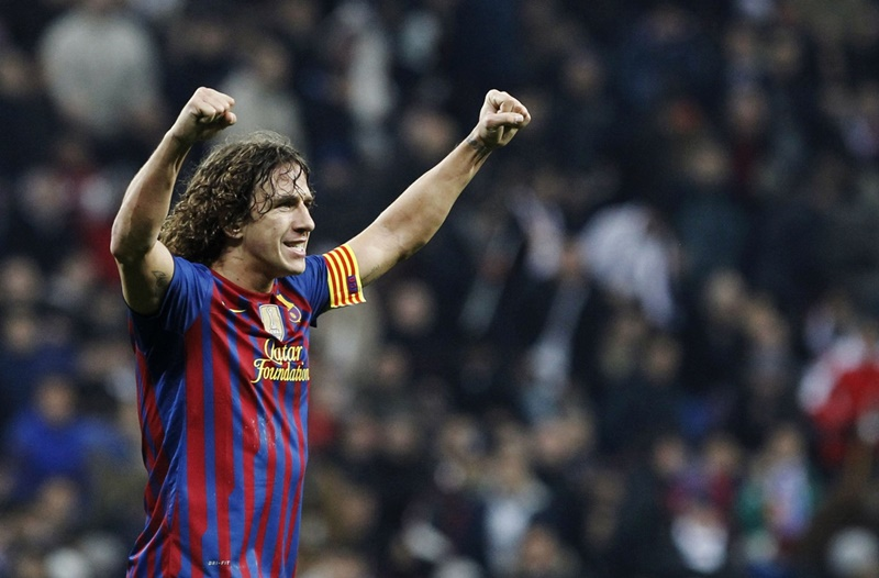 Puyol: Celebration.